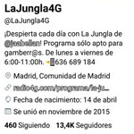 #SiempreLaJungla Twitter Photo