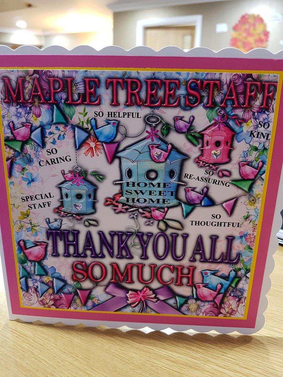 Maple Tree Court Twitter post