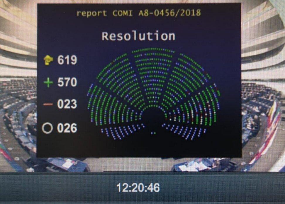 Approvato a larga maggioranza il mio report sulla direttiva sui #ritardineipagamenti #latepayments! Vittoria per le #PMI, che dedico ai tanti imprenditori che falliscono o non crescono a causa dello Stato che non li paga! Ora #governo italiano sblocchi i crediti!! #sevuoipuoi pic.twitter.com/wYwBZHISzJ