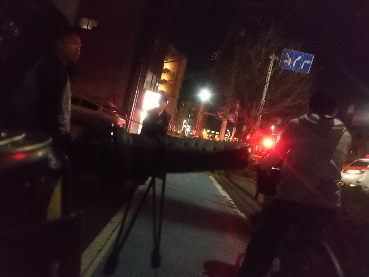 川崎市川崎区大島で発砲事件が起きた現場画像