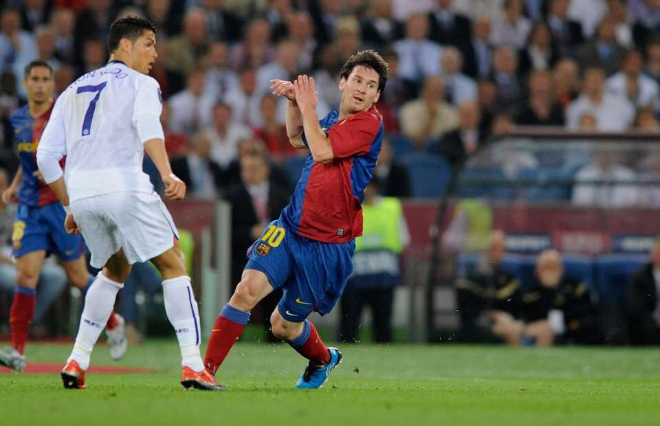 Lionel Messi #10YearChallange