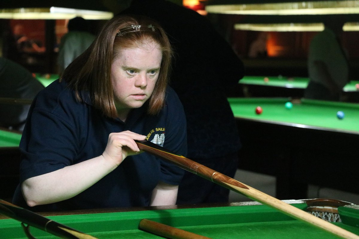 test Twitter Media - 🤝 INVITATION | @HGSNOOKERCLUB in Stockport will host a fantastic @DSActive snooker festival on Friday 8 Feb for people with Down's syndrome.  Groups and individuals are invited to a fun day of free snooker and coaching with @WDBSofficial #Cue4All  Email george.edwards@wpbsa.com https://t.co/Dxokrke2j4