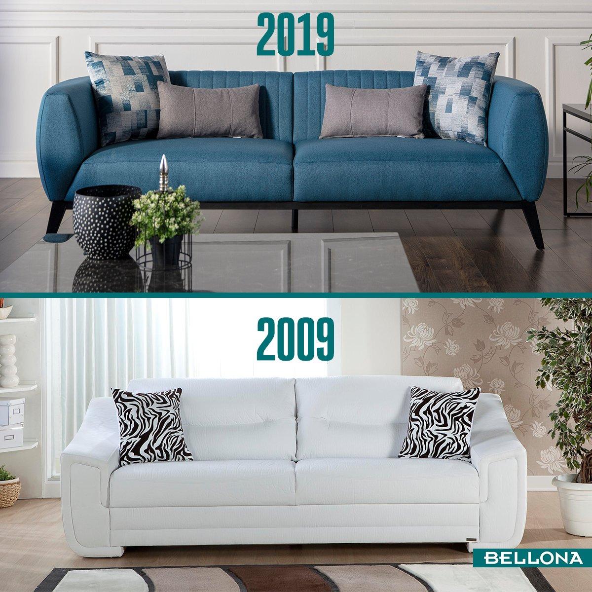 İster 10 yıl önce ister 10 yıl sonra... Her dönem moda, her dönem #Bellona! #10YearsChallenge