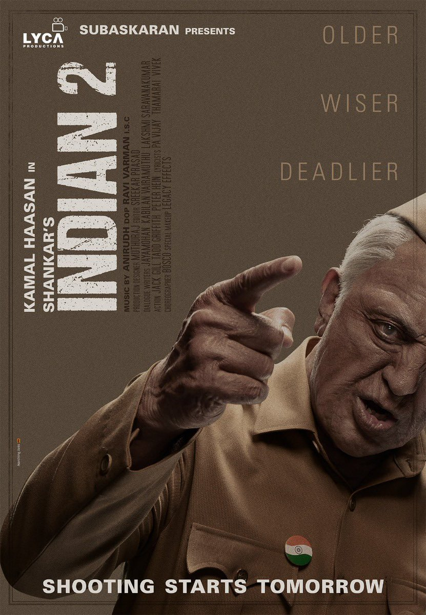 Image result for indian 2 poster