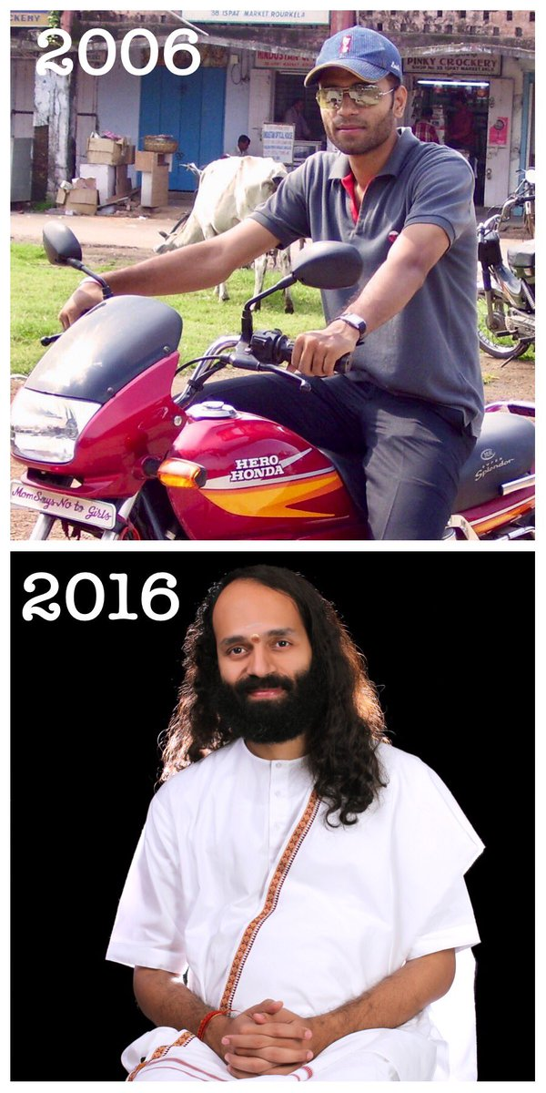 #10YearChallenge or rather I would say #10YearJourney of transformation!   #PathOfBliss #Grateful <br>http://pic.twitter.com/XsG7FopBxS