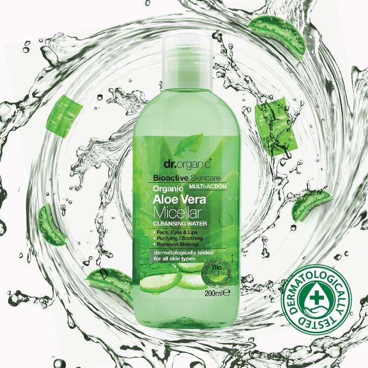 Our Aloe Vera Micellar is a smart cleanser that uses the active power of micelles to gently remove make up, absorb impurities, improve skin tone and leave you with a naturally cleansed, smooth and hydrated complexion #newlaunch #veganbeauty #organicskincare<br>http://pic.twitter.com/JNOpg1sV3X