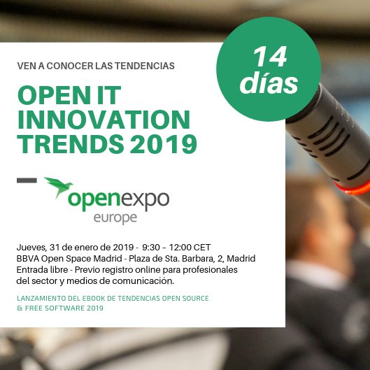 OpenExpo Europe's photo on El BBVA