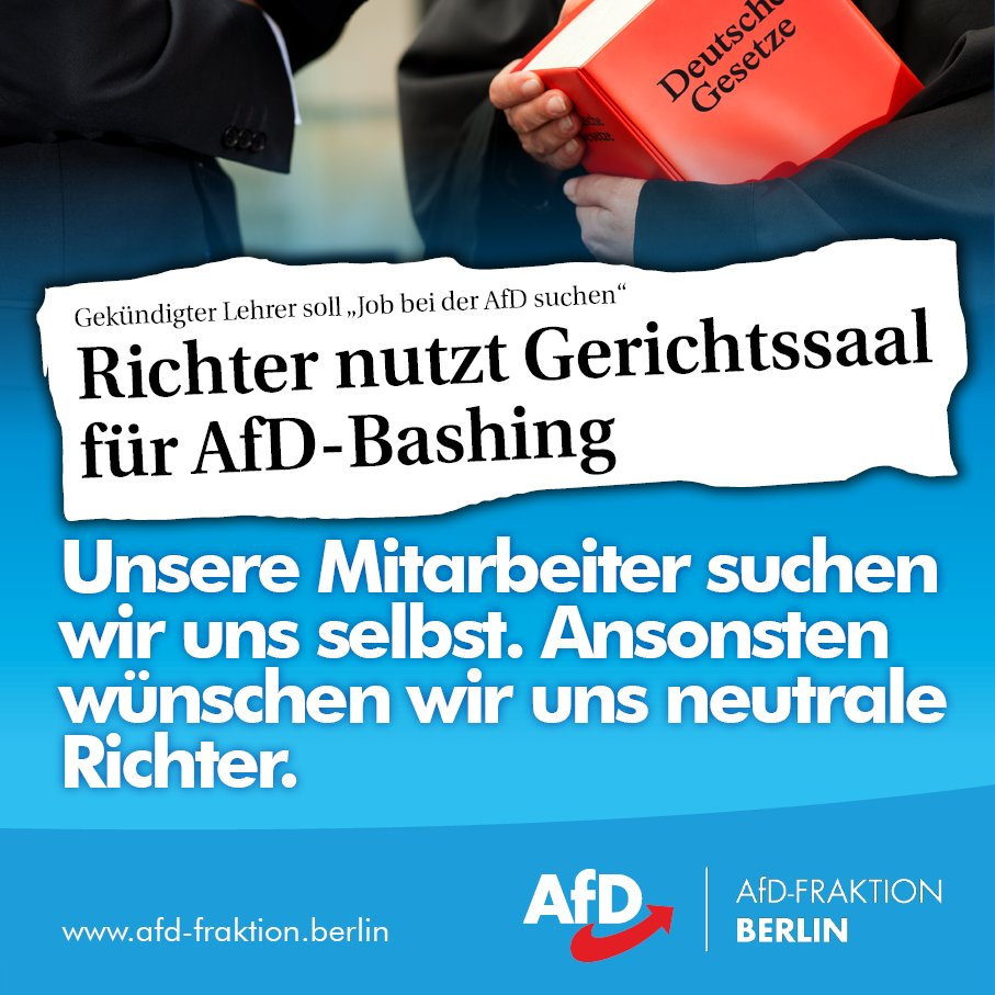 AfD-Fraktion Berlin's photo on prüfung