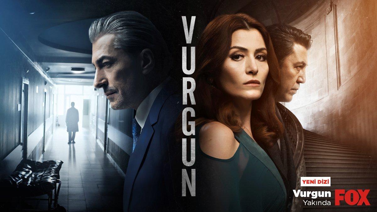 Deniz Çakır, Erkan Petekkaya ve Emre Kınayın başrollerini üstlendiği Vurgun dizisinin afişi yayınlandı 24