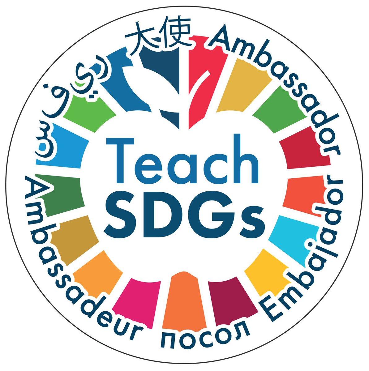 We❤💗💚💛💙💘🌏🌎🌍 We❤💗💚💛💙💘 #TeachSDGs @TeachSDGs