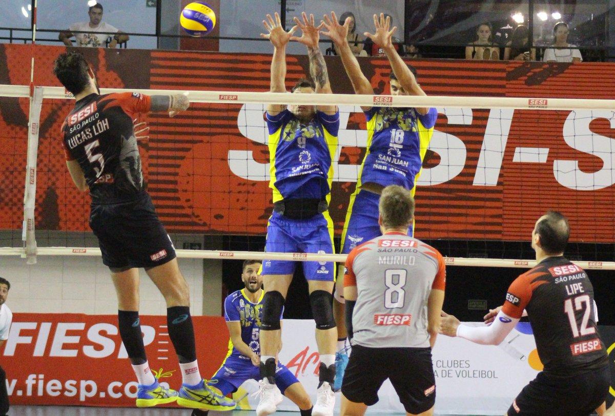 Libertadores de vôlei masculino conhece seus semifinalistas #volei #libertadores #supernoticiafm  https://t.co/aKArBbnEHT