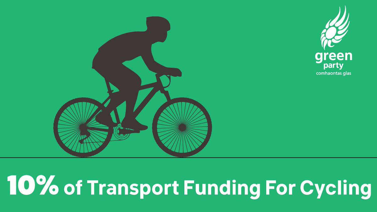 test Twitter Media - GREAT NEWS! The Green Party amendment to increase transport funding on cycling to 10% has passed in Dáil! This is a fantastic day for cycling in Ireland! #allocateforcycling https://t.co/le8gImPpQw