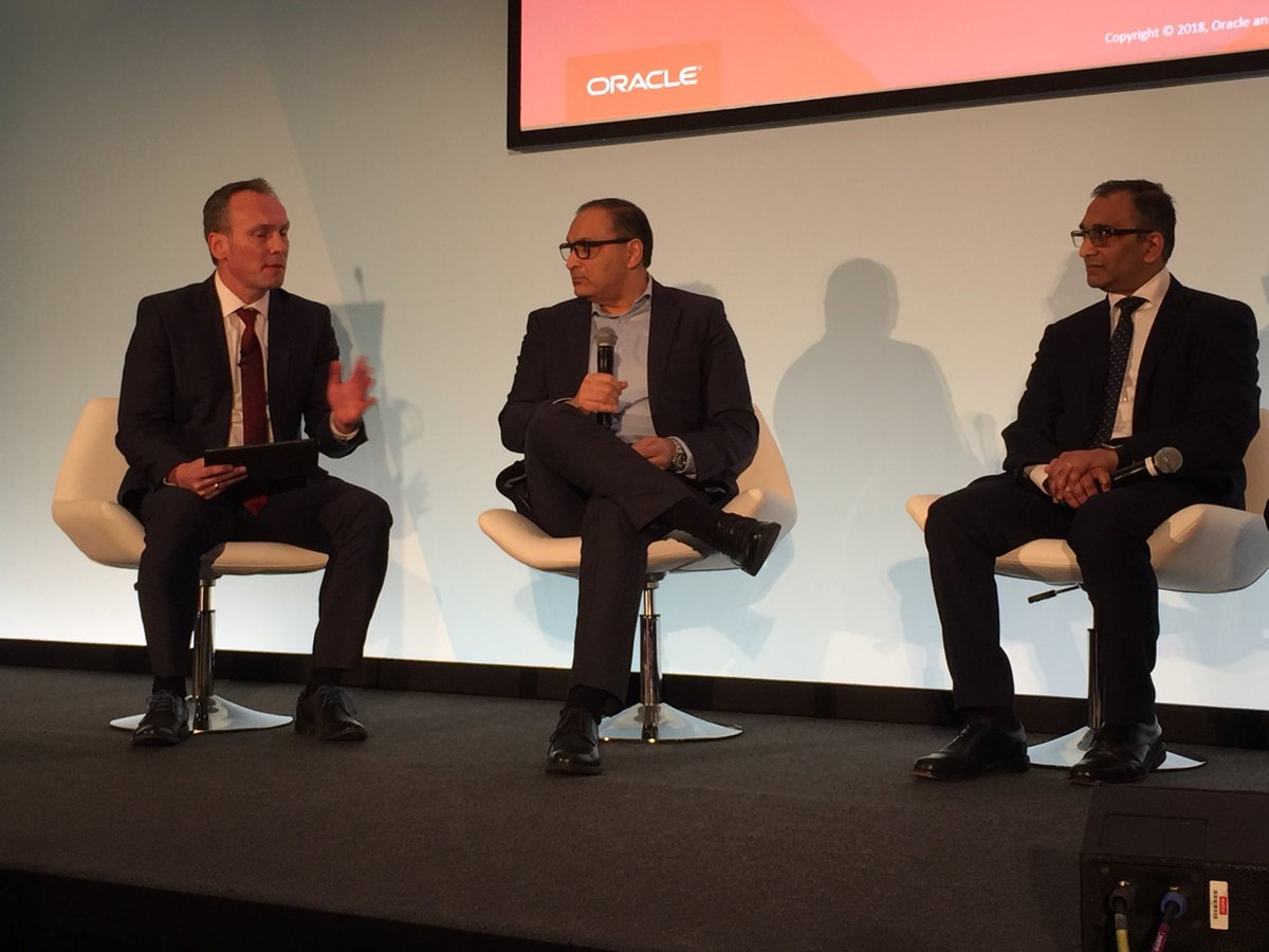 Malhar Kamdar on #ERP upgrades, three reasons for increased momentum: 1-maturity of technology, 2-last ever upgrade, only updates after that and 3-#oracleconsulting is able to offer safer and cheaper upgrades than ever #OOWLON #OOWConsulting<br>http://pic.twitter.com/h132k8Jhxm