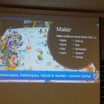 Image for the Tweet beginning: Innokas-verkosto maker-kulttuuria levittämässä ja fasilitoimassa