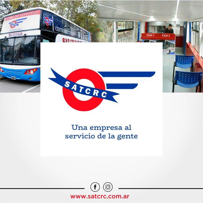 🚐 Espacio Patrocinado. SAT Ciudad de Río Cuarto: una empresa al servicio de la gente. Conocé más sobre la entidad de transporte de la ciudad 👉🏼 Foto