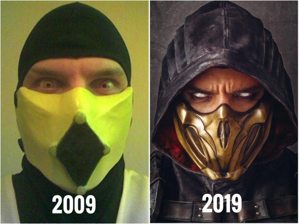 RT @maul_cosplay: #10yearchallenge #2009VS2019 #mortalkombat #cosplay #mk11 @wbgames @MortalKombat https://t.co/sH5crdzhcW
