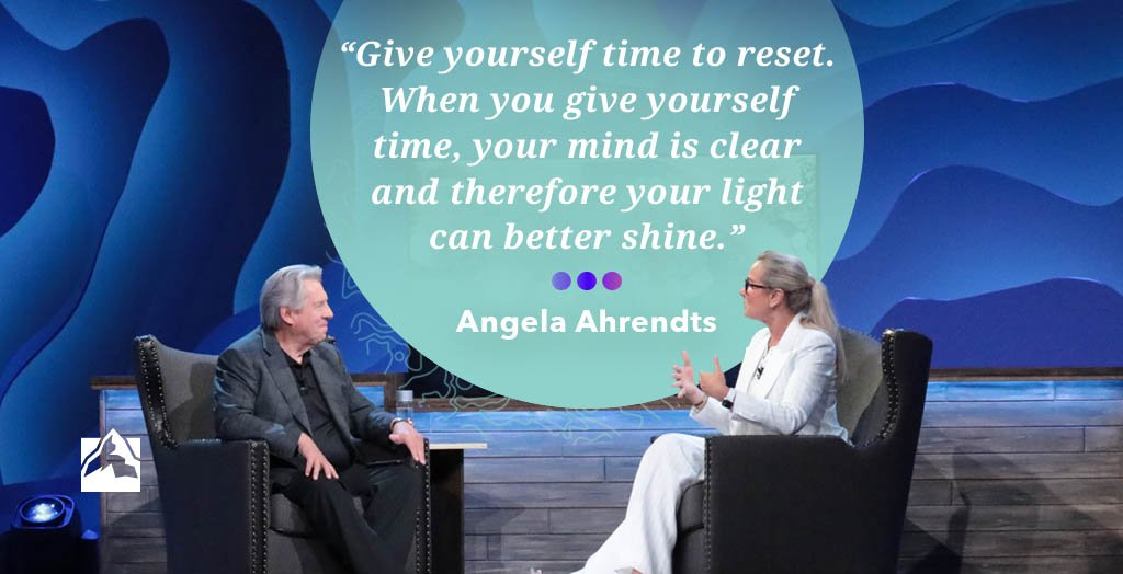 It is easy to fearlessly pursue our goals without taking time to reset. Yet, as @AngelaAhrendts explained at #GLS18, we often become better leaders when we give ourselves time. How do you reset? <br>http://pic.twitter.com/QPQFAtGO7t