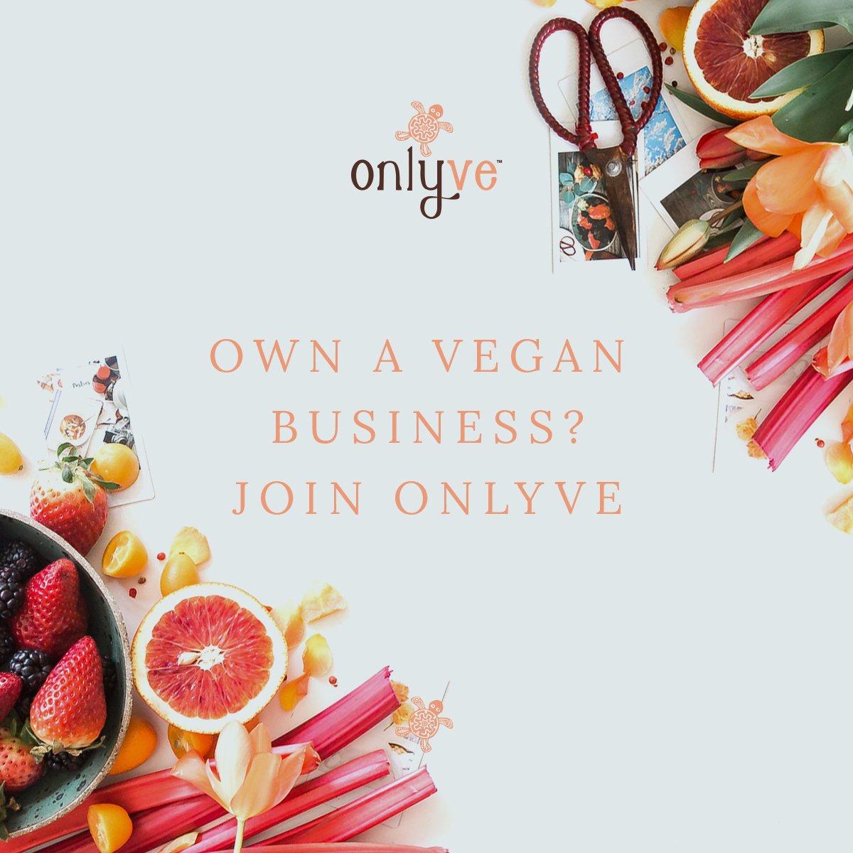 Do you own a vegan business? Register your interest here:  https://www. onlyve.com/sell  &nbsp;   #OnlyVe #veganbusiness #veganbusinessowner #veganfood #veganclothes #veganfashion #veganbeauty #veganproducts #vegandproduct #veganlifestyle #veganuk #vegansofig #veganhealth #vegan #vegans<br>http://pic.twitter.com/7d5dnDWEmg