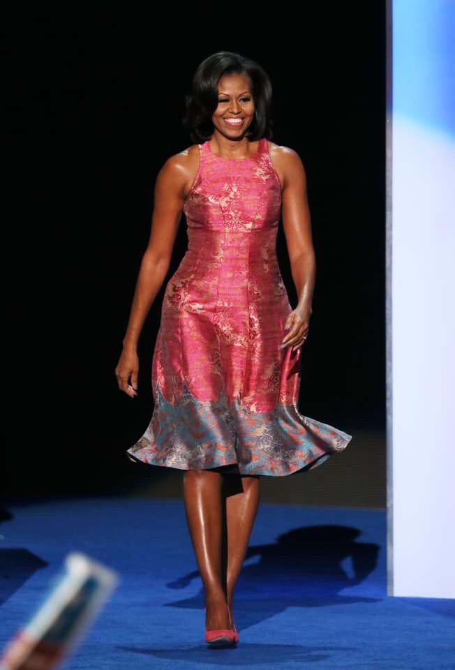 Happy Birthday to one of the most dazzling women to grace the White House. Attorney, Healthy Food Advocate, Mom in Chief, Midwestern Girl Next Door, Best Selling Author, First Lady of the United States of America. Happy Birthday @MichelleObama<br>http://pic.twitter.com/L2lB2OzTbB