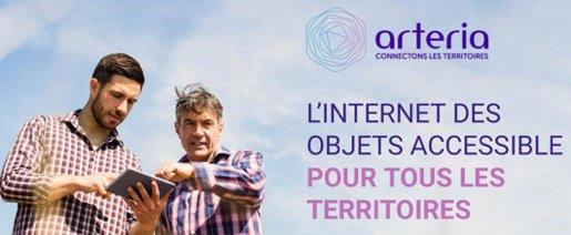 Image for the Tweet beginning: [Livre Blanc IoT] @ArteriaTelecom, partenaire
