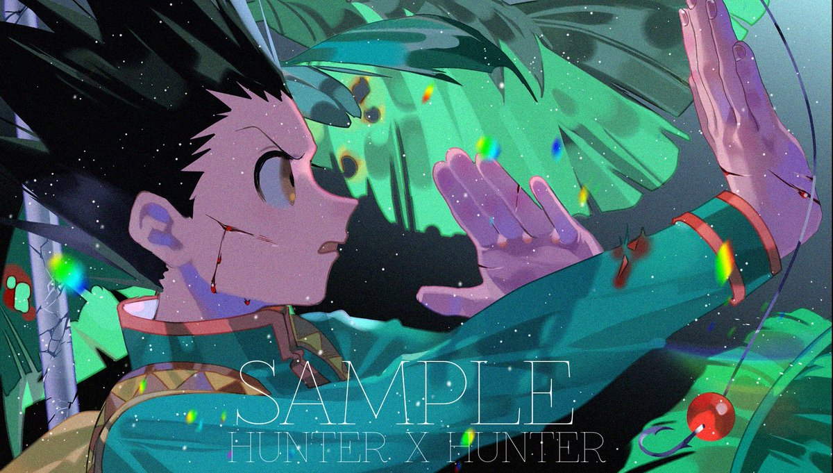 These are my third set of postcards of HXH.My first love is Chrollo , but I can&#39;t paint him well. #illustration  #イラスト #絵 #HunterXHunter<br>http://pic.twitter.com/QVk3kJtAlU
