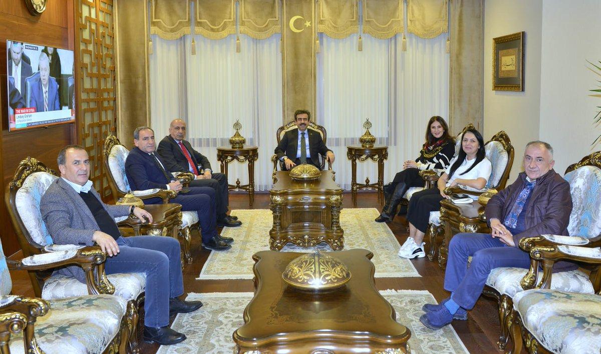 df7ef865d87c0 Sayın Valimiz @Hasan_Guzeloglu, Koton @koton Yönetim Kurulu Başkanı Gülden  Yılmaz, DTSO Baskanı