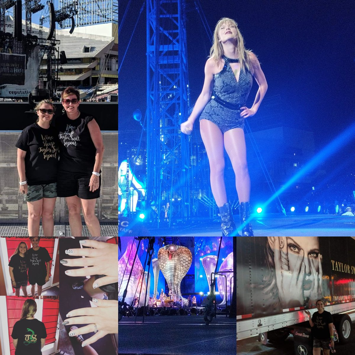 Take me back to June 30th!! I miss the Rep Tour and @taylorswift13 @taylornation13