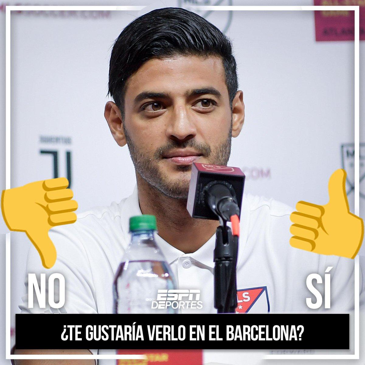 En Barcelona se dice que hay 👀en Carlos Vela 😲