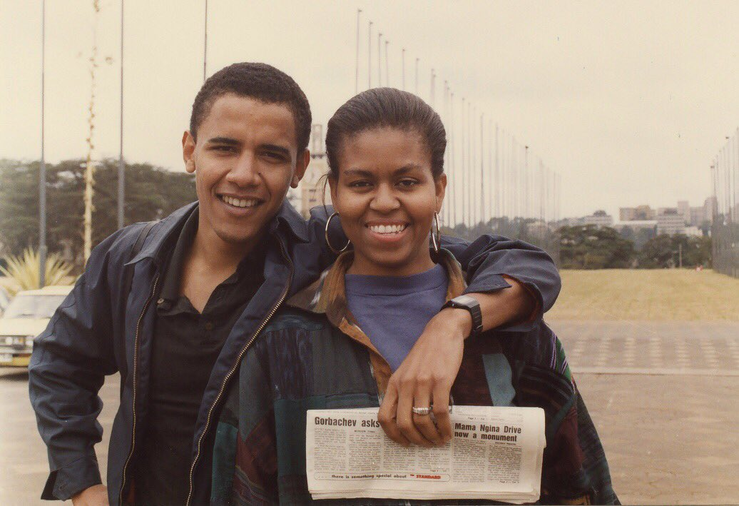 I knew it way back then and I'm absolutely convinced of it today — you're one of a kind, @MichelleObama. Happy Birthday!