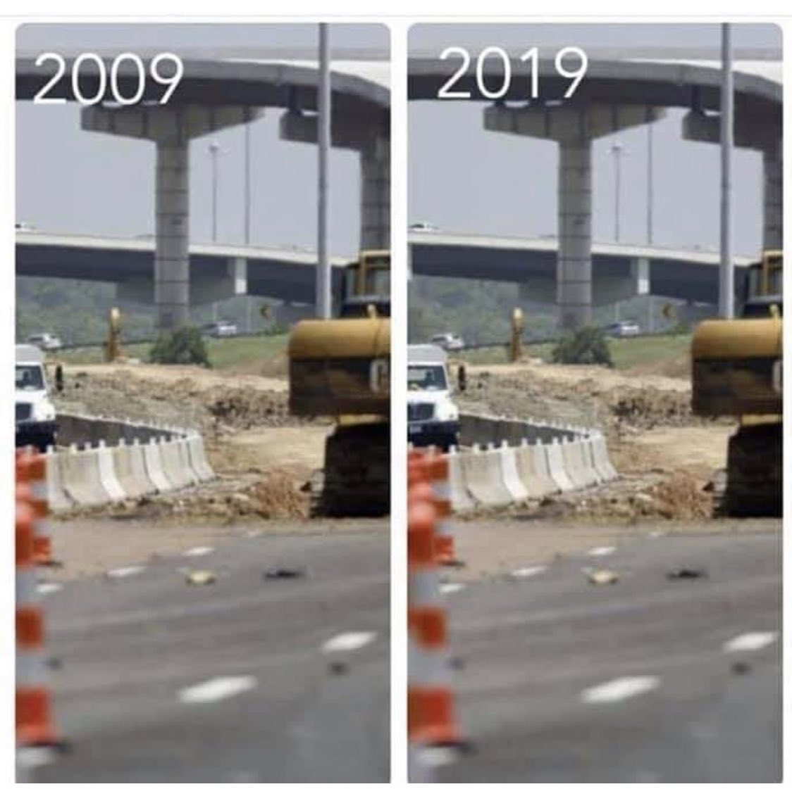The Highways in Texas 10 Year Challenge