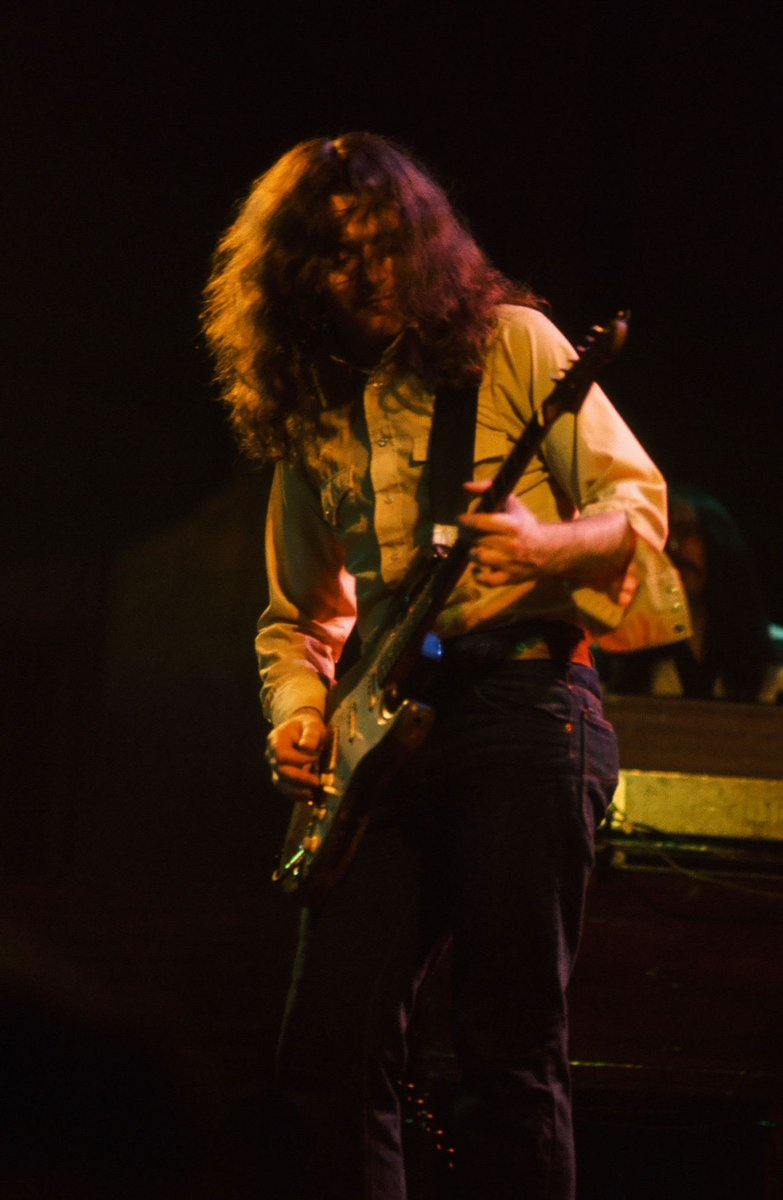 Rory playing the Manchester Free Trade Hall on this day in 1977 photo by Steve Smith <br>http://pic.twitter.com/ZTtNFPCGcp