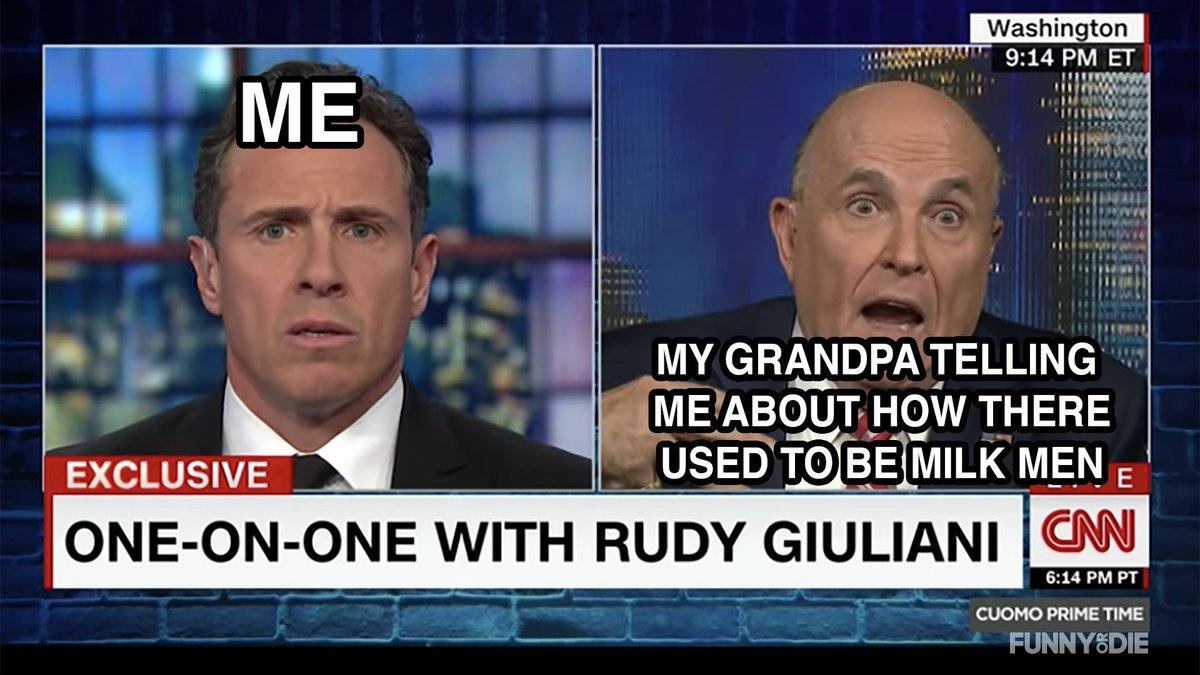 Grandpa's rambling again