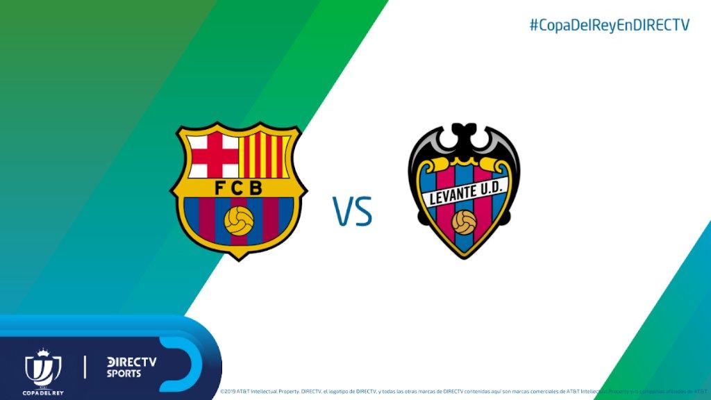 El partido de ida, sorpresivamente, quedó en manos de #Levante. ¿Tendrá #Barcelonaa los suficiente para remontar la serie? Disfrut la #CopaDelReyEnDIRECTV 🏆 desde las 15h30 por @DIRECTVSports (610/1610HD) y online en DIRECTV Play.