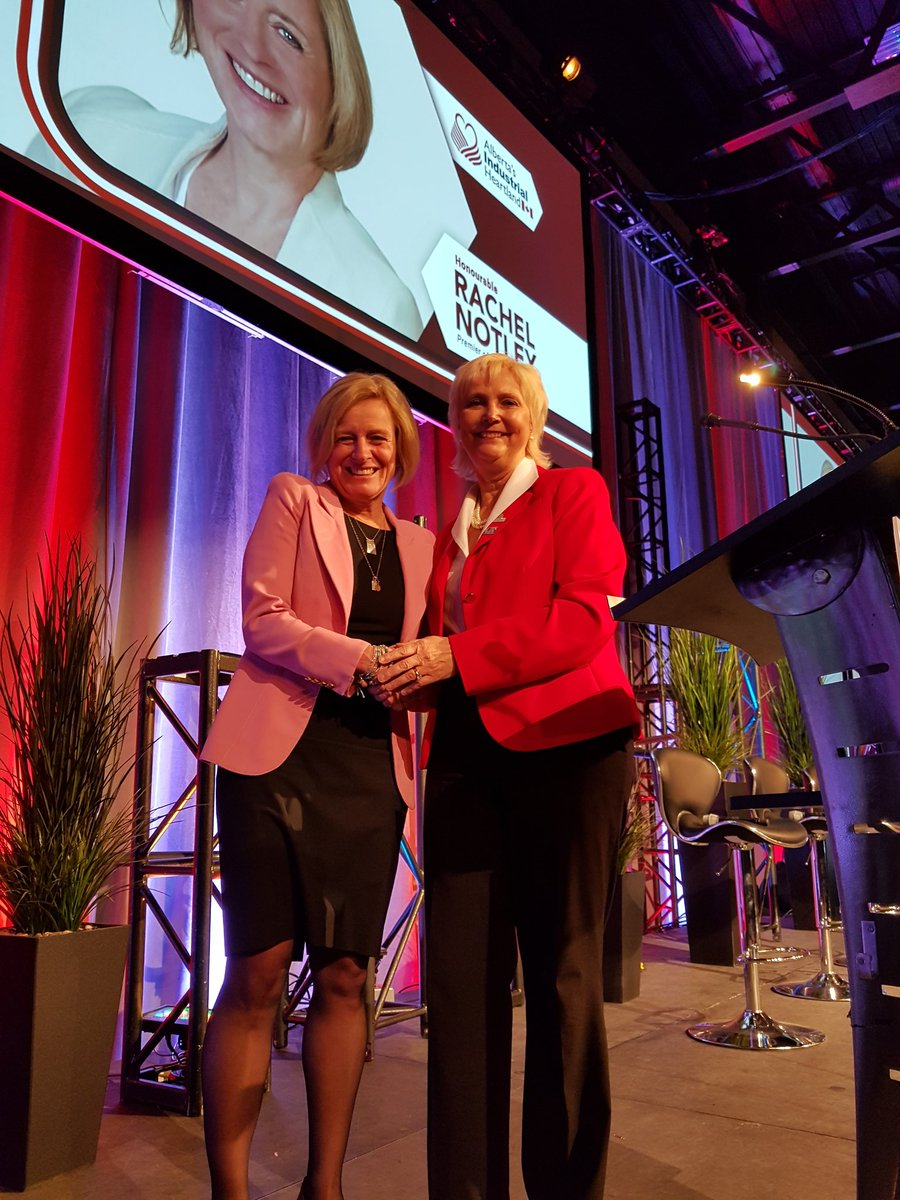 Grest to have Premier Notley join us at our Annual Stakeholder Event, welcomed by 1,000 people! #abheartland #abenergy