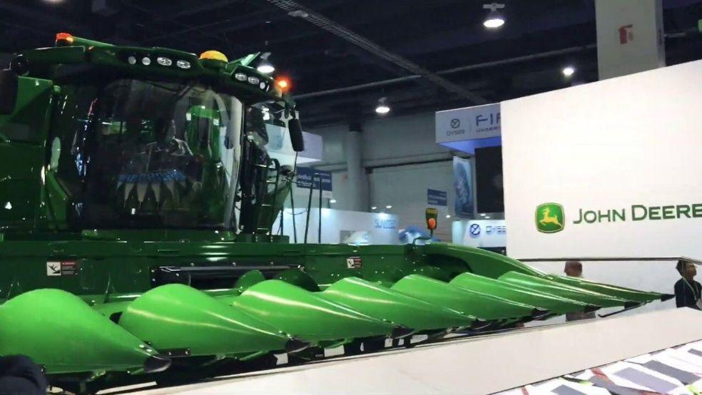John Deere Connected Digital Farming