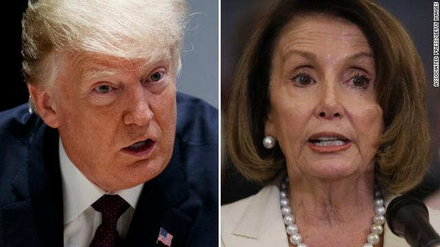 "Pelosi was scheduled to leave today when Trump canceled use of the military aircraft. The administration ""worked with the Air Force and (the Defense Department) and basically took away the rights to the plane from the speaker,"" a White House official saihttps://t.co/W5Izv46JKLd"