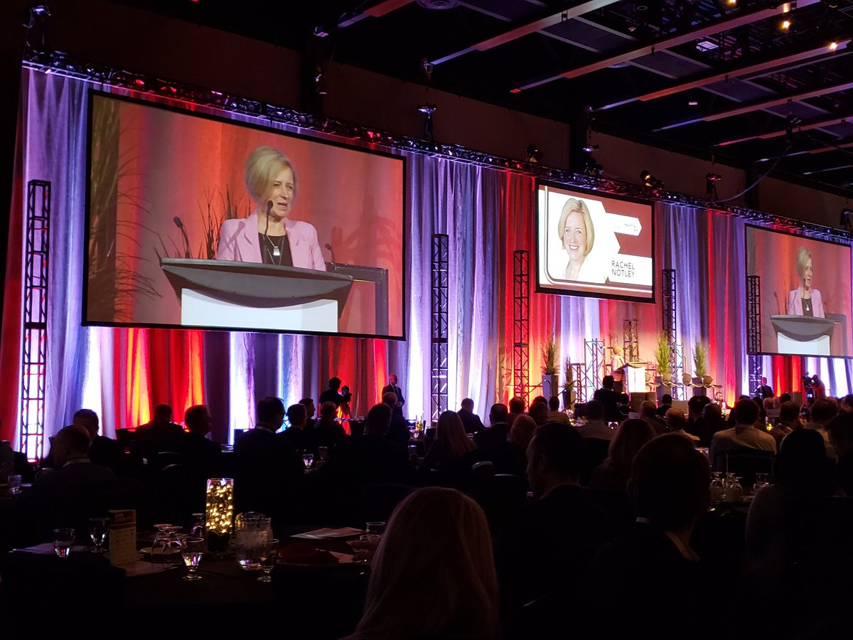 Premier Notley speaking about the need for Pipelines and Energy Diversification