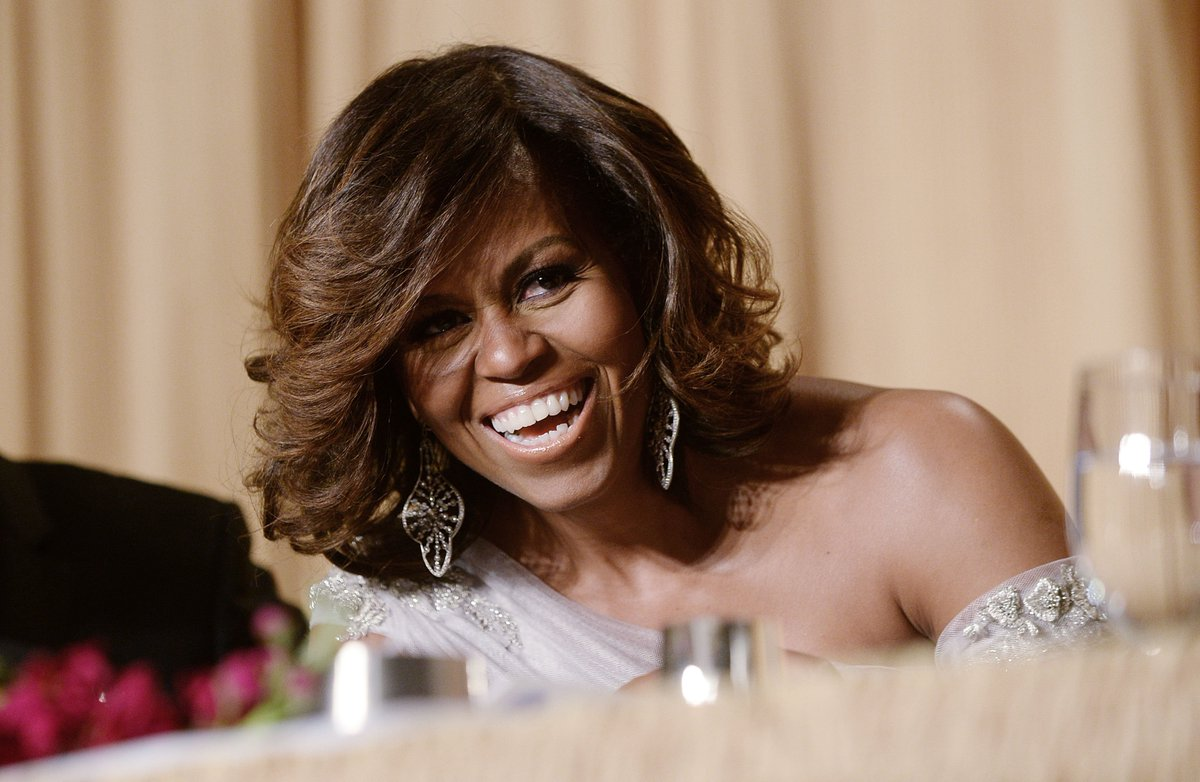 Happy birthday, Michelle Obama!  Forever a shining example of elegance and grace. <br>http://pic.twitter.com/xs3MCM3xyR