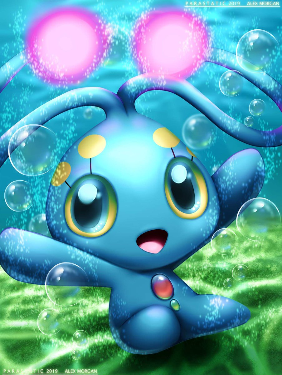 Finished my drawing for the mythical Manaphy!!  #pokemon #manaphy #videogame #digitalart #fanart #mythical #anime<br>http://pic.twitter.com/YZ5lwklTVO