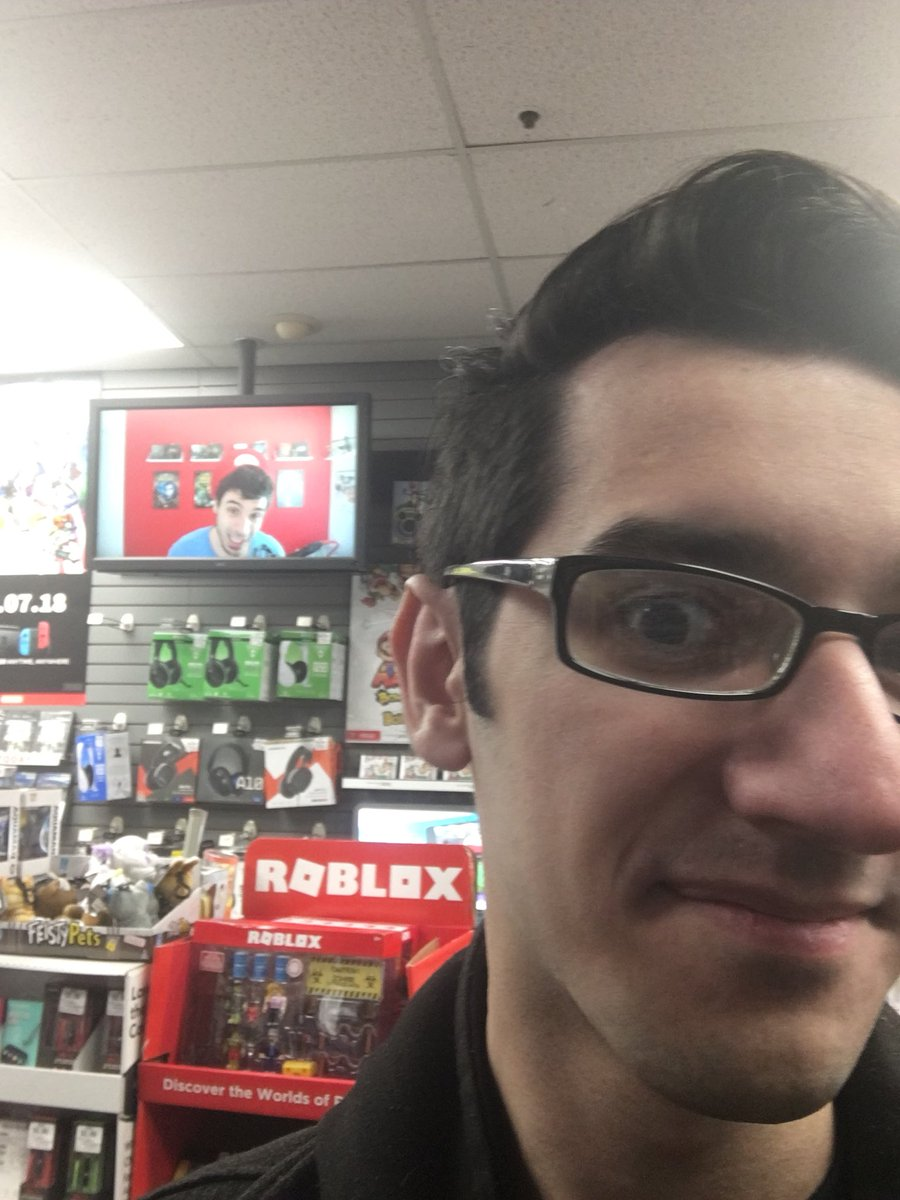 Met him in person while I worked at BestBuy now on screen at my GameStop. Best Italian. @ChilledChaos