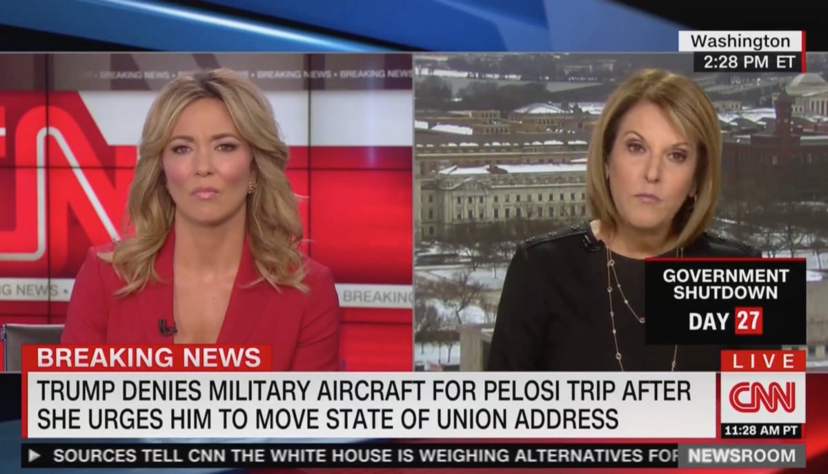 'Ridiculous': CNN's Gloria Borger Zaps Trump For Painting Pelosi's Afghanistan Excursion as a 'Pleasure Trip' https://t.co/Z5MADo4g2T