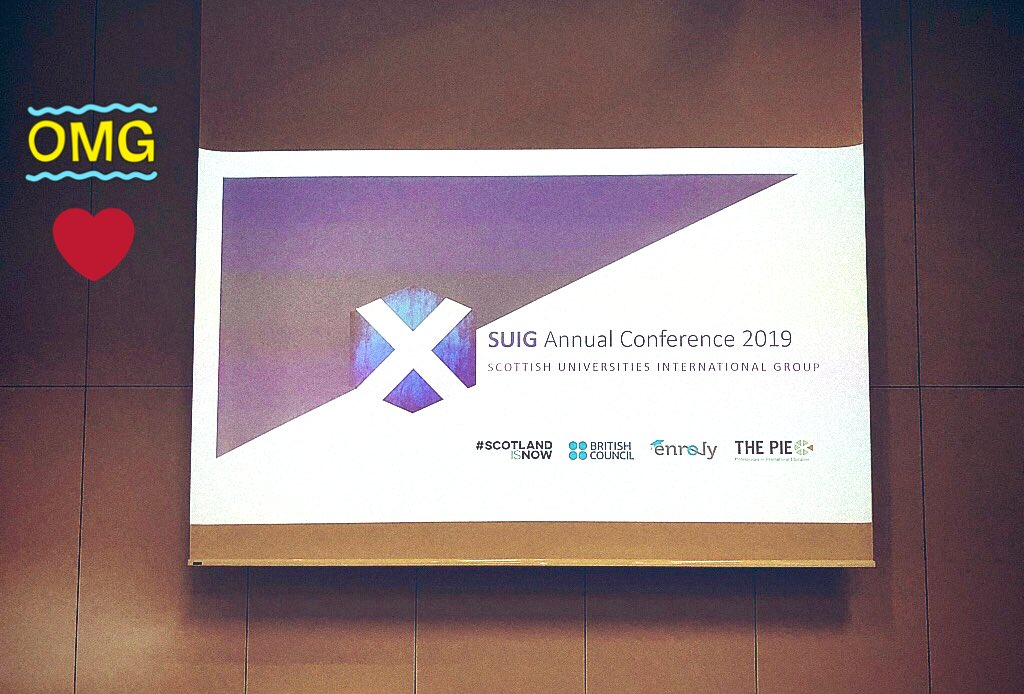 TiC tock TiC tock! The countdown is on! #suigconference2019 #scotlandisnow @TIC_conferences