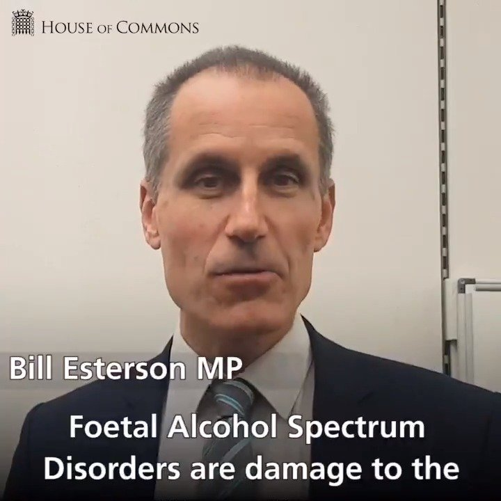 Fetal Alcohol Disorders Are Equally >> Uk House Of Commons On Twitter Before Bill Esterson S Adjournment