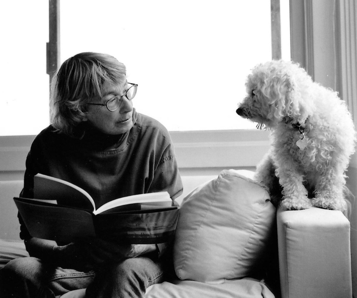 'But I got saved by poetry. And I got saved by the beauty of the world.'  Thank you, Mary Oliver.