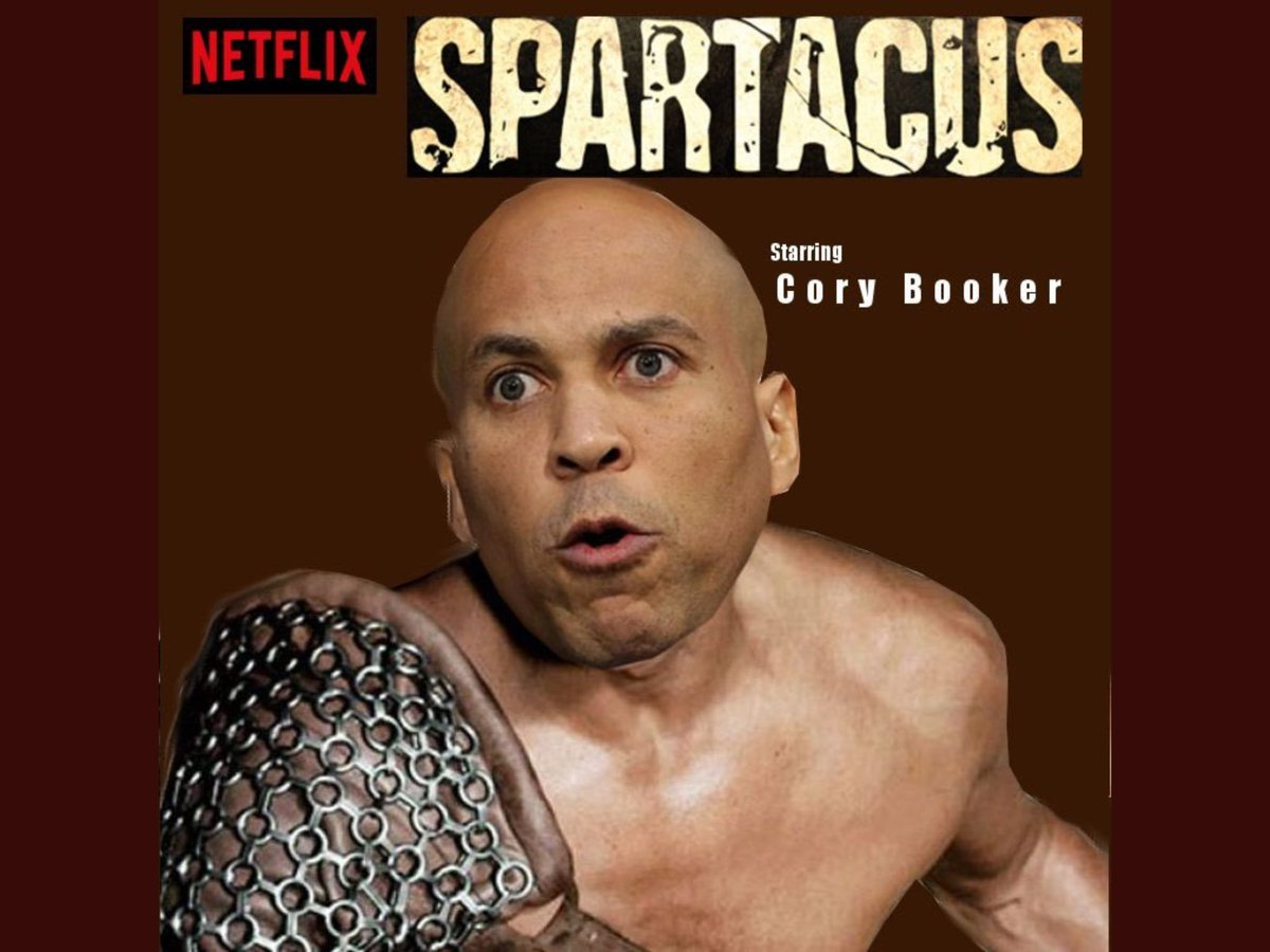 Image result for cory booker boxer