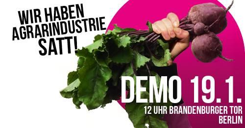 Dentro de unas horas nos uniremos en Berlín a nuestras compañeras de @BirdLifeEurope @NABU_de @PorOtraPAC para reclamar otra forma de pensar la agricultura y la ganadería. #WHES19 #IGW2019 #PorOtraPAC #GoodFoodGoodFarming Os lo contamos en detalle desde allí 🇪🇸💘🇩🇪