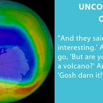 Image for the Tweet beginning: The discovery of the ozone