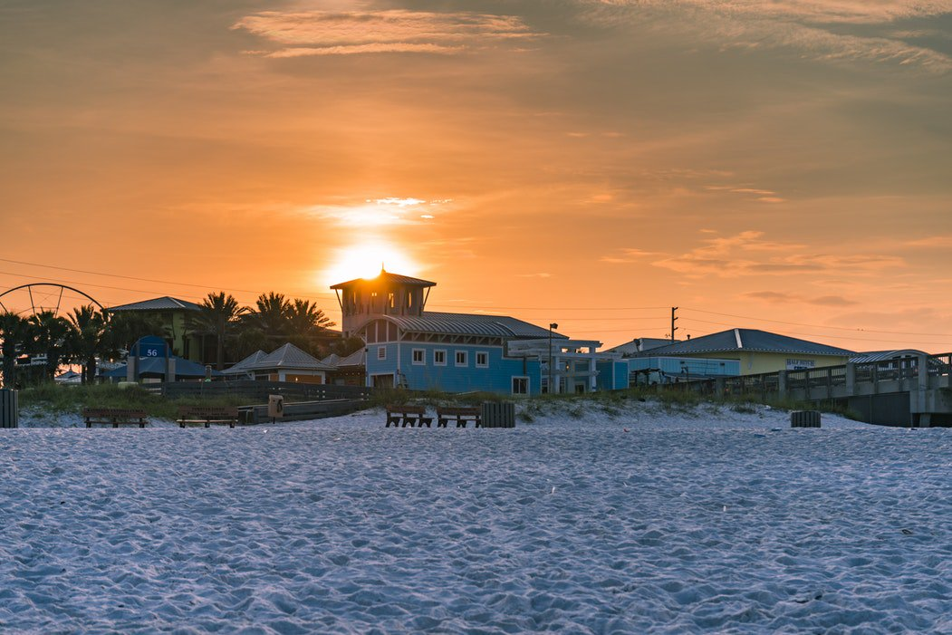 Sunrise picture over @PierPark in @Visit_PCB!  #PanamaCityBeach #ThursdayMotivation<br>http://pic.twitter.com/7QeW3E21Yw