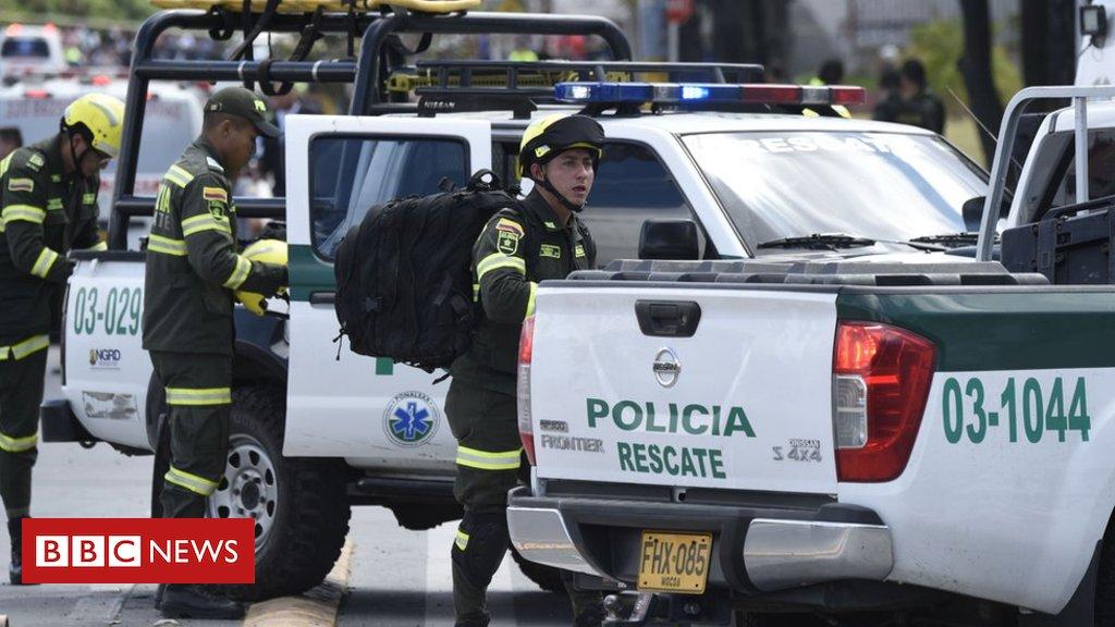 Explosão de carro-bomba deixa ao menos 8 mortos em academia policial de Bogotá https://t.co/L6oGa9H5ZA #Urgente