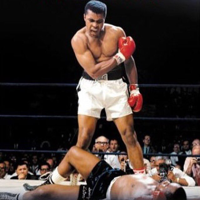 Happy birthday to a true champ the goat Muhammad Ali 🙌.. R.I.P.